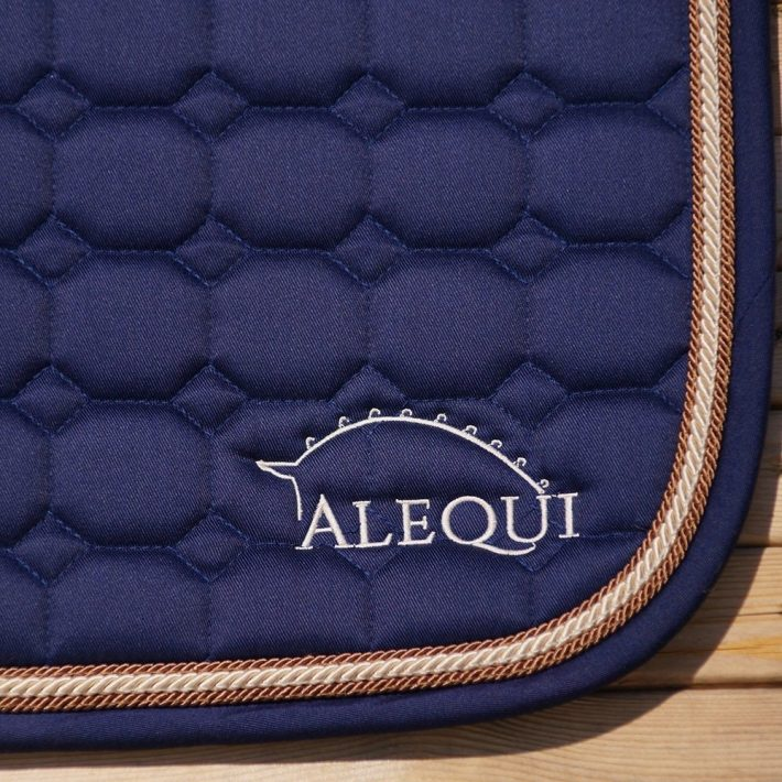 ALEQUI blue jumping saddle pad
