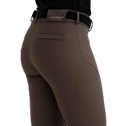 ALEQUI breeches half seat brown